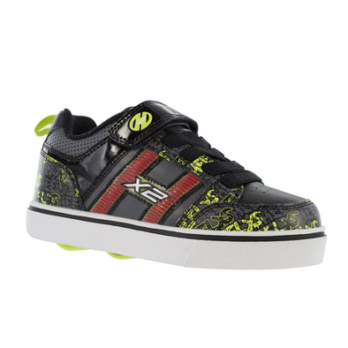 Heelys Bolt Plus X2 Black Grey Bright Yellow