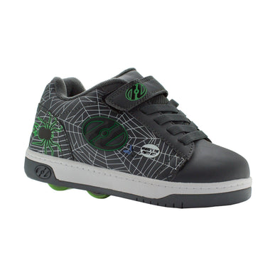 Heelys Dual Up X2 Grey Lime Webs