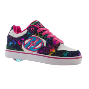 Heelys Motion Plus White Denim Rainbow Foil