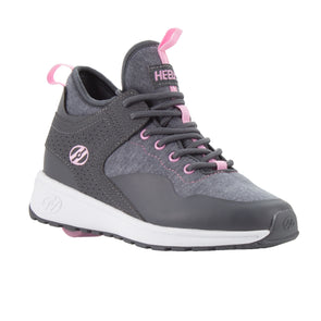 Heelys Piper Charcoal Light Pink
