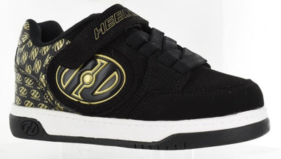 Heelys Plus X2 Lighted Black Gold