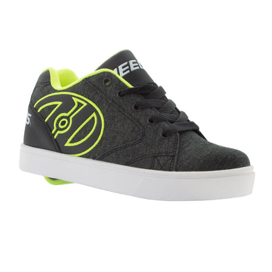 Heelys Vopel Black Heathered Bright Yellow
