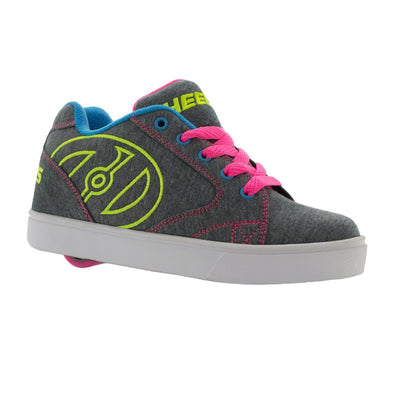 Heelys Vopel Grey Heathered Neon Multi