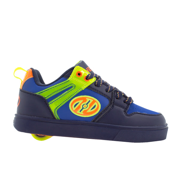 Heelys Motion 2.0 Navy Bright Yellow Orange