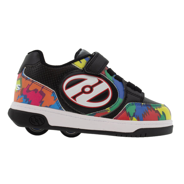 Heelys Plus X2 Black Multi Paint