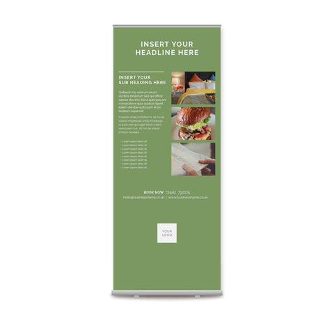 Pull-up Banner - Colour Block – Green
