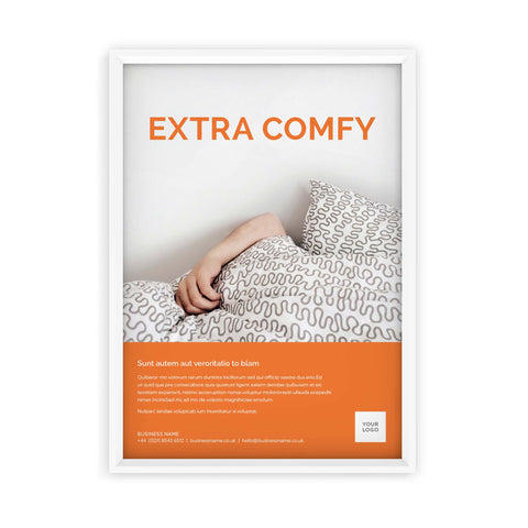 A2 Poster - Colour Block – Orange