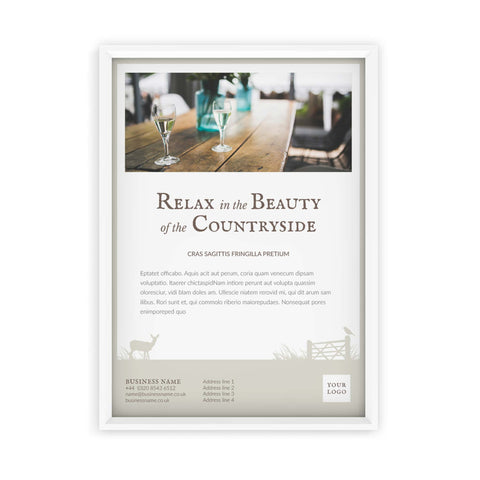A2 Poster - Country Style – Neutral