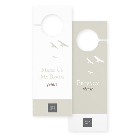 Door hangers – 2 sided - Country Style – Neutral