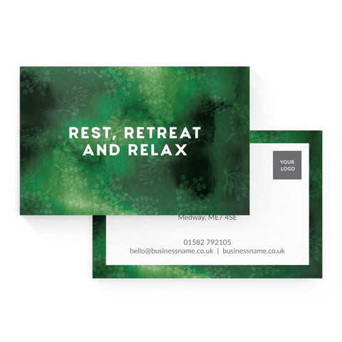 Business Card - Forest Retreat – Green