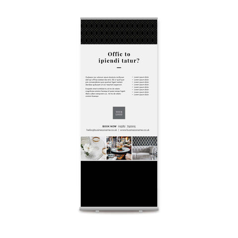 Pull-up Banner - Premium – Monochrome