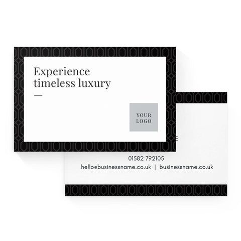 Business Card - Premium – Monochrome
