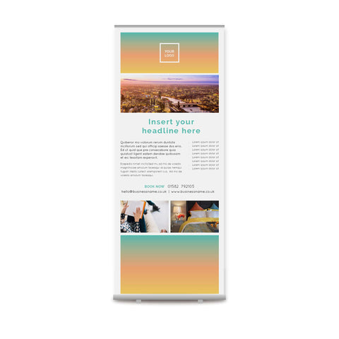 Pull-up Banner - Urban Stays – Sunrise