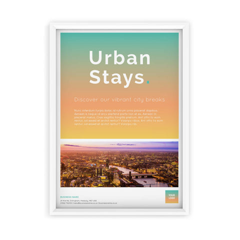 A2 Poster - Urban Stays – Sunrise