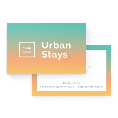 Business Card - Urban Stays – Sunrise