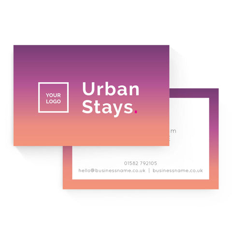 Business Card - Urban Stays – Sunset