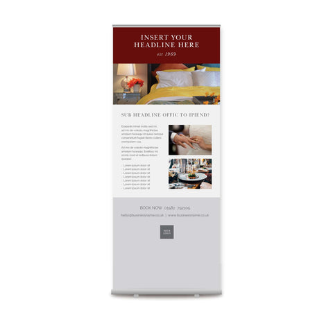 Pull-up Banner - Value – Crimson
