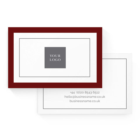 Business Card - Value – Crimson