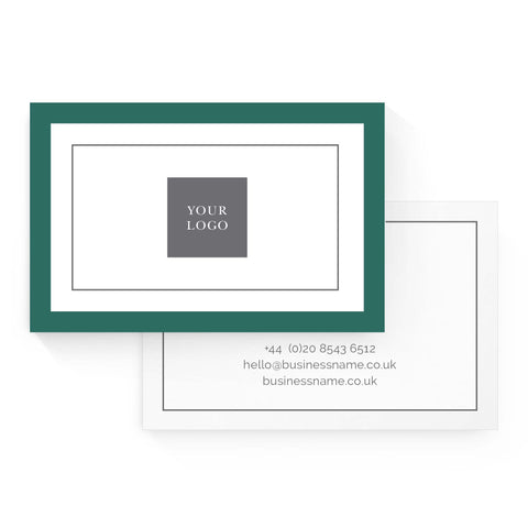 Business Card - Value – Malachite Green