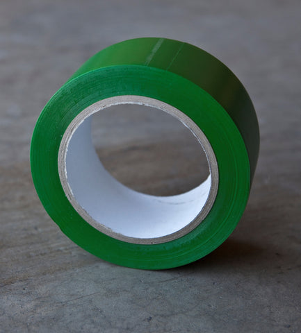 "Vinyl Poly Tape - Green 2"" x 36yds"