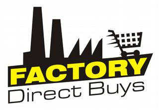 FDB (Factory Direct Buys) [AVAILABLE IN AUGUST]
