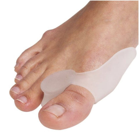 Silicone Gel Bunion Toe Spreader Protector. Toe Alignment.-C08- (4 Pcs.)