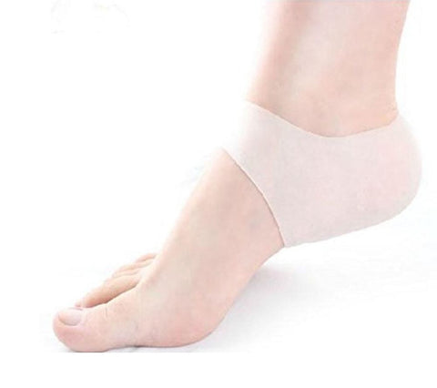 Heavy duty Anti-Slip Silicone Moisturizing Gel Heel socks. C21 (1 Pair)