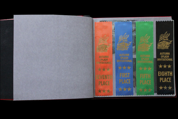 Award Ribbon Organizer Album, Store award ribbons neatly. -SNOB- (1 set)