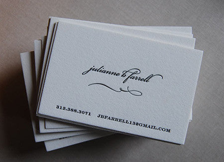 All tagged letterpress calling cards sarah drake design social networking reheart Images