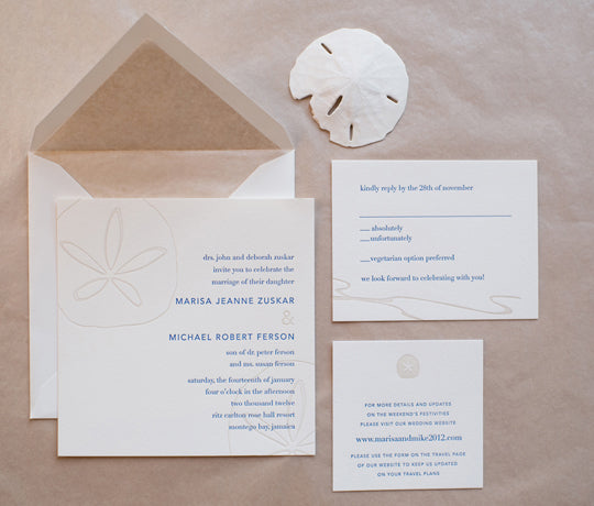 Modern Wedding Invitations   Sleek Invitation