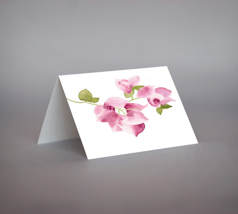 Bougainvillea Notecard