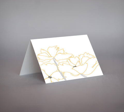 Poppy Notecard