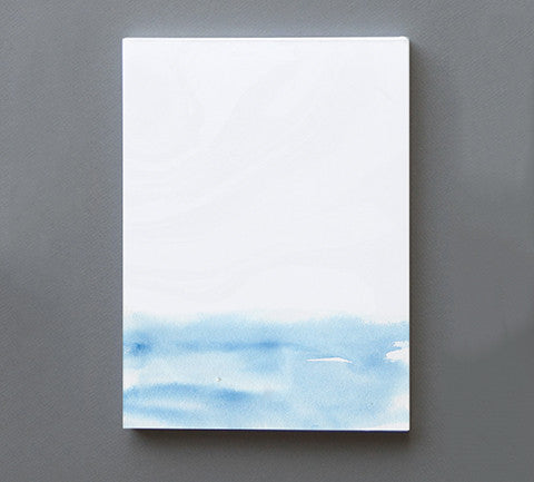 Watercolor Notepad