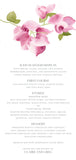 Bougainvillea Menu