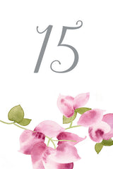 Bougainvillea Table Number