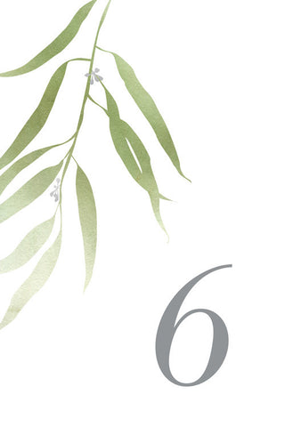Eucalyptus Table Number