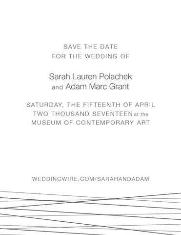 Intertwined Save the Date