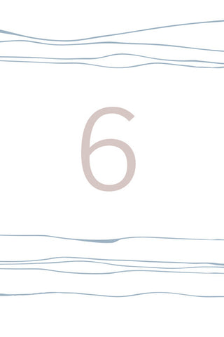 Pacific Table Number