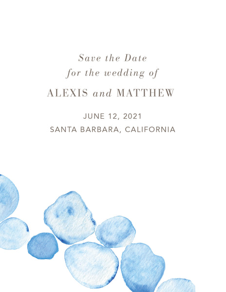 Seaglass Save the Date