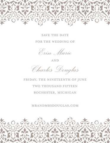Veranda Save the Date