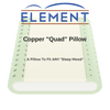 "Element Mattress Pillow Copper ""Quad"" Pillow"