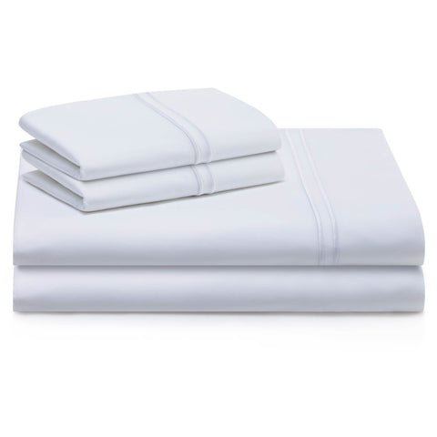 Element Mattress Twin / White WOVEN® Supima® Cotton Sheets