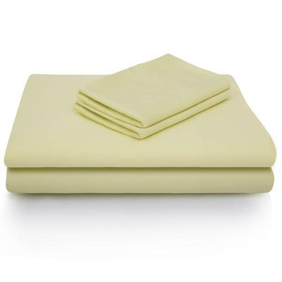 Malouf Sheets Twin / Citron WOVEN® Rayon from Bamboo