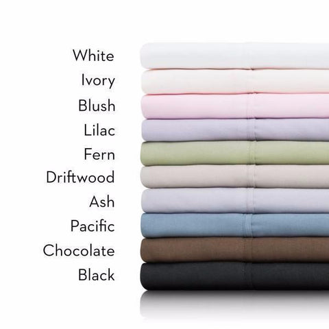 Malouf Sheets Twin / White WOVEN® Luxury Brushed Microfiber Sheets