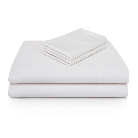 Malouf Sheets Twin / White WOVEN® Rayon from Bamboo