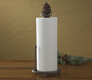 Pine Cone Paper Towel Holder