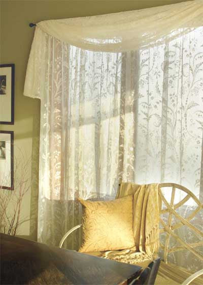 Coventry Lace Curtain Panel By Heritage
