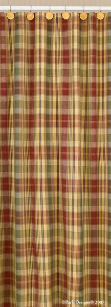 Saffron Shower Curtain - Pine Hill Collections