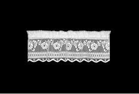 Victorian Rose Lace Valance by Heritage Lace