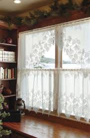 Woodland Lace Tier 24 Quot Curtains Pine Hill Collections